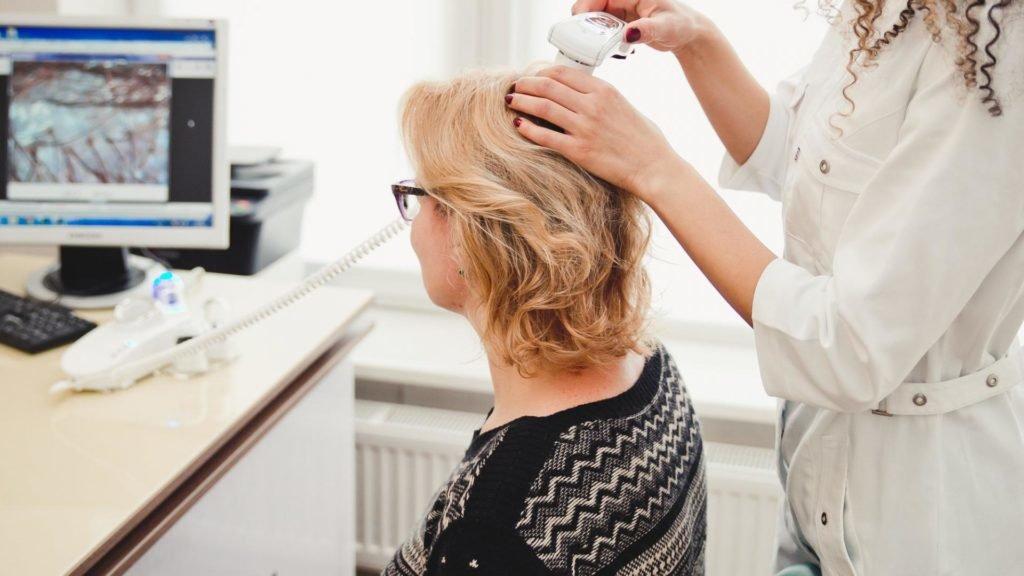 Комплексная диагностика волос и заболеваний кожи головы